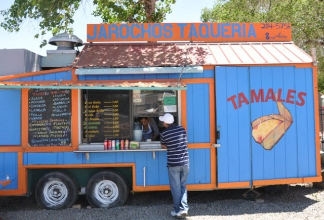 """This Jarochos food truck at Jackalope is part of the diverse food scene in Santa Fe, New Mexico"""