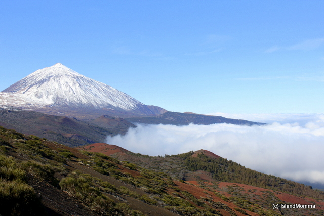 """Teide in Tenerife in winter"""