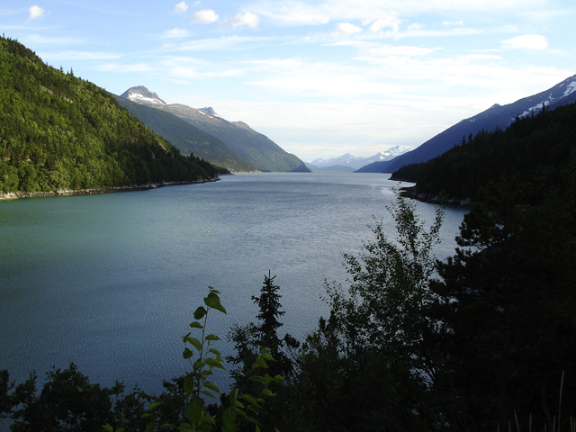 """Gorgeous views going up the Inside Passage'"