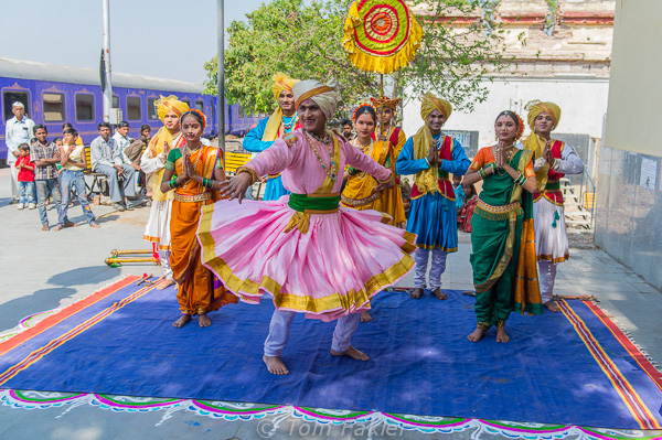Color, Culture and Soft Adventure on a Luxury Train in India