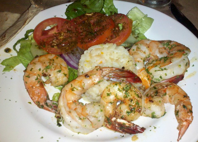 """Mazatlan shrimp at Pedro and Lola restaurant in Old Town Mazatlan- Photo Credit - Deborah Grossman"""
