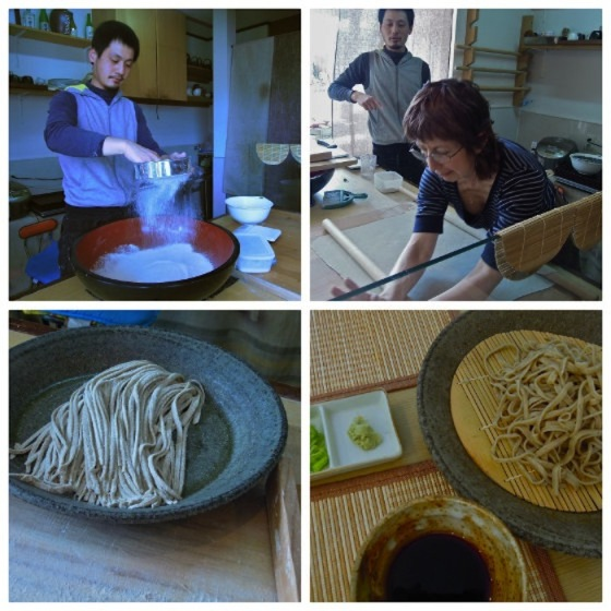 """Soba-Making with the master"""