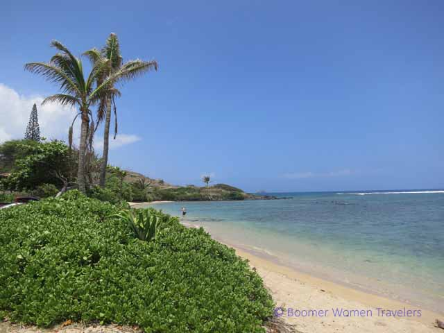 """Kumimi Beach (also known as 20 Mile Beach or Murphy Beach, great snorkeling in Molokai"""
