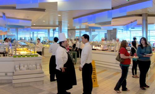"""Buffet on board Celebrity Solstice"""