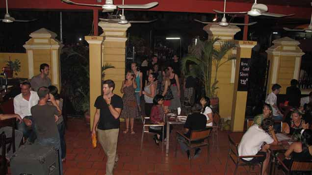"""The Latin Quarter restaurant in Phnom Penh, Cambodia"""
