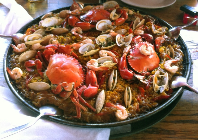 """Paella at The Latin Quarter restaurant in Phnom Penh, Cambodia"""