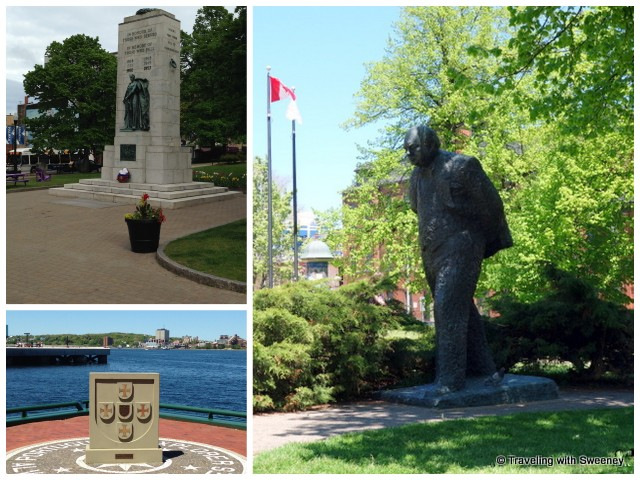 """Winston Churchill, Portuguese Explorer Memorial"""