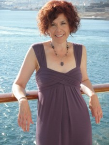 """Anita Finlay aboard the Celebrity Equinox"""