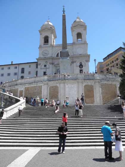 """The Spanish Steps, Rome"""