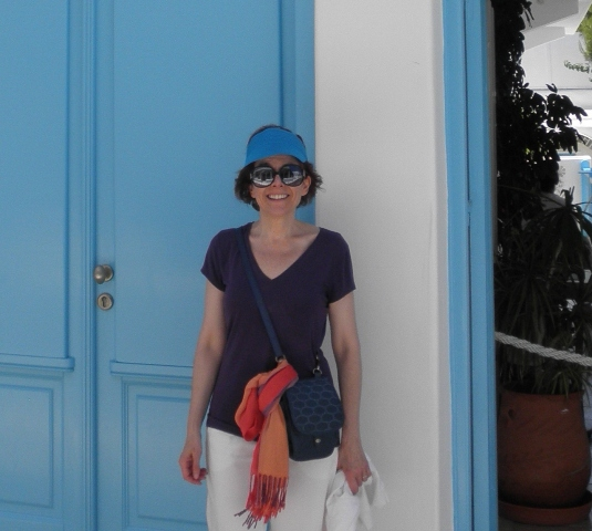 """Anita Finlay in Greece"""