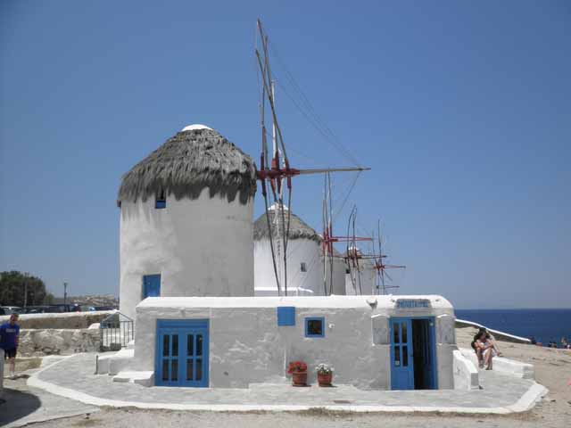 """Mykonos amazing windmills"""