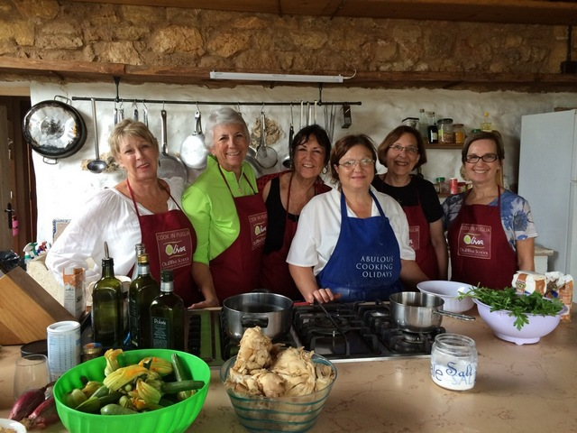 Come with a Friend, Make New Friends on a cooking tour in Puglia
