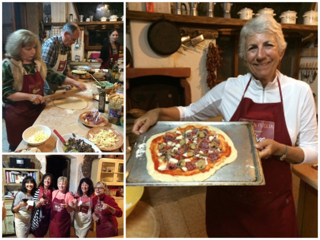 Pizza Making - Photos by Victoria De Maio