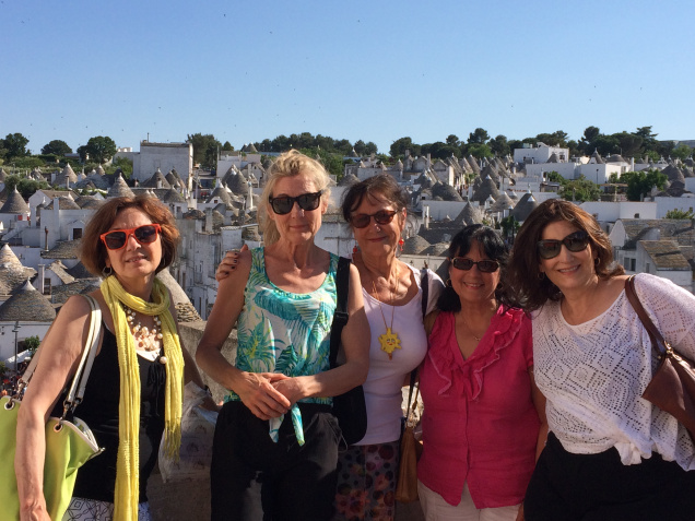 Puglia tour group, Photo by Victoria De Maio