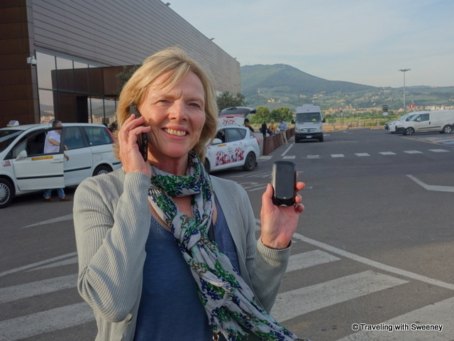 Staying connected upon arrival in Florence, Italy with XCOM Global